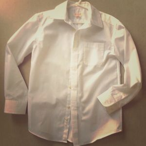 Cat & Jack boys white shirt